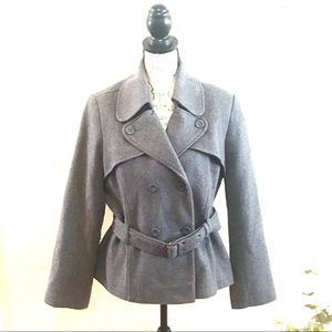 Old Navy Double Breasted Belted Peacoat